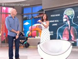 Brincadeiras Perigosas - Encontro com Fátima Bernardes - Rede Globo
