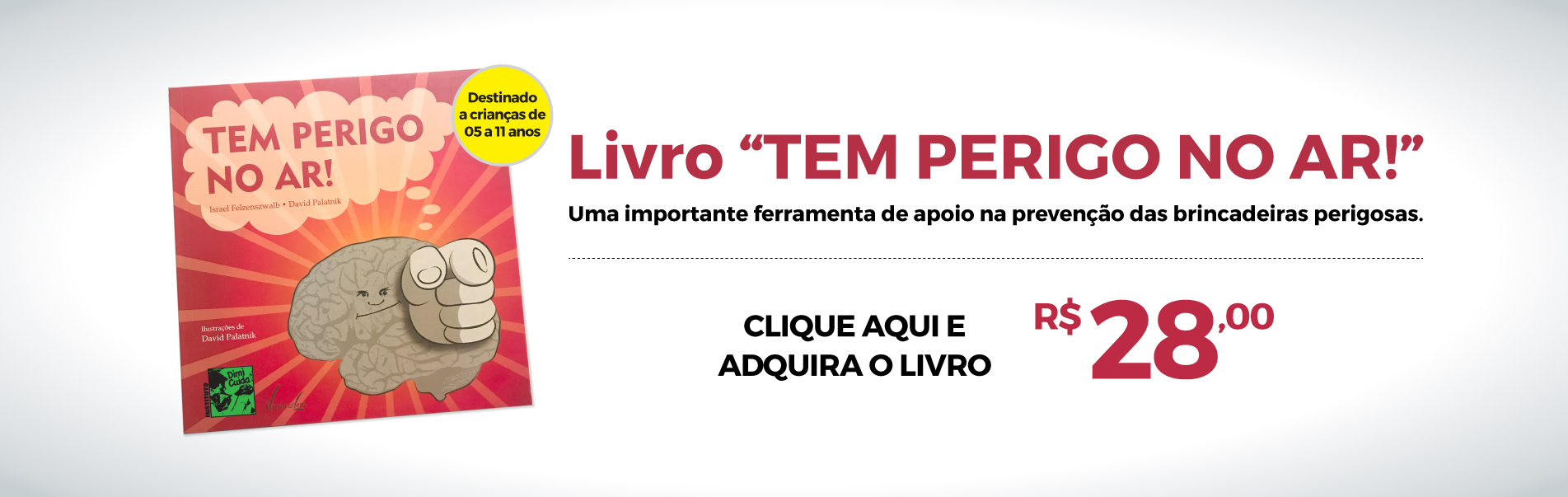 (Português) Livro Tem Perigo no Ar