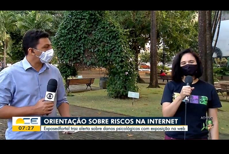 (Português) Instituto Dimicuida - Entrevista ao Jornal Bom Dia Ceará (TV Verdes Mares) - 10/07/20